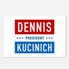 Kucinich for President Postcards (Package of 8)