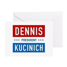 Kucinich for President Greeting Cards (Package of
