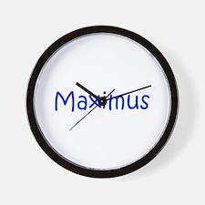 Maximus-kri blue Wall Clock