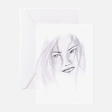 Pretty Face Greeting Cards (Pk of 10)