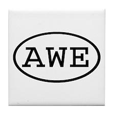 AWE Oval Tile Coaster