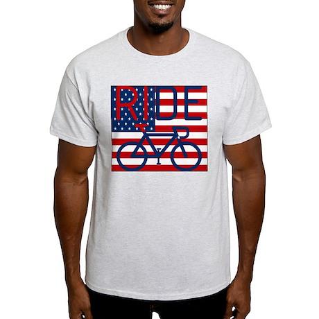 US FLAG RIDE Light T-Shirt