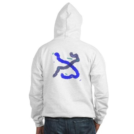 Modernistic Hooded Sweatshirt