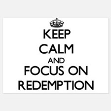 Keep Calm and focus on Redemption Invitations