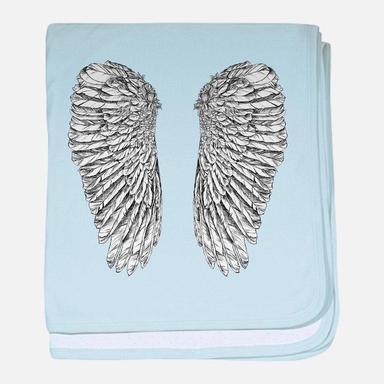 Angel Wings baby blanket