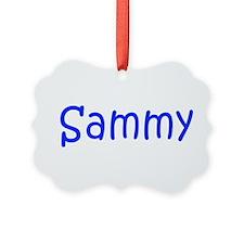 Sammy-kri blue Ornament