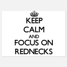 Keep Calm and focus on Rednecks Invitations