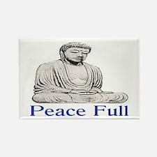 PEACE FULL Rectangle Magnet