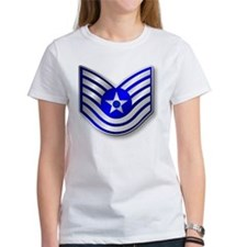 Technical Sergeant, TSgt Stripes (Metallic) T-Shir