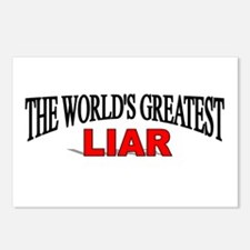 """The World's Greatest Liar"" Postcards (Package of"
