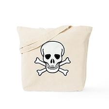 Plain Jolly Roger Tote Bag