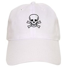 Plain Jolly Roger Baseball Cap