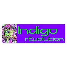 Indigo Bumper Bumper Sticker