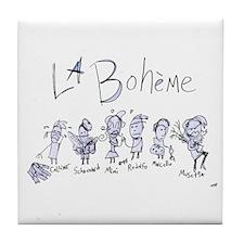 La Boheme: The Tile Coaster