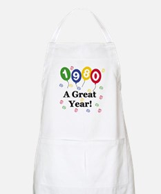 1980 A Great Year BBQ Apron