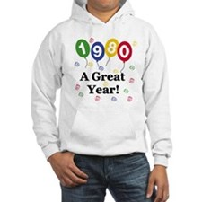 1980 A Great Year Hoodie