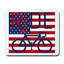 US FLAG RIDE Mousepad