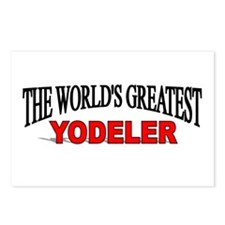 """""""The World's Greatest Yodeler"""" Postcards (Package"""
