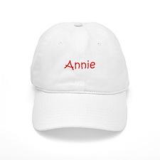 Annie-kri red Baseball Cap