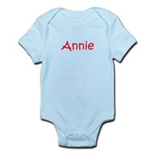 Annie-kri red Body Suit