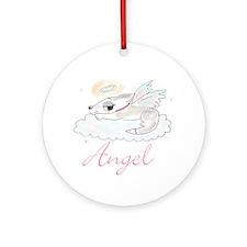 Dangel I Ornament (Round)