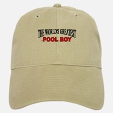 """The World's Greatest Pool Boy"" Baseball Baseball Cap"
