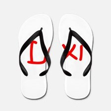 Lexi-kri red Flip Flops