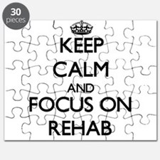 Keep Calm and focus on Rehab Puzzle