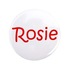 "Rosie-kri red 3.5"" Button (100 pack)"