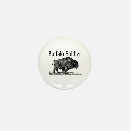 BUFFALO SOLDIER Mini Button