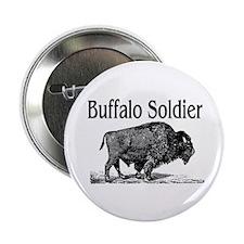 """BUFFALO SOLDIER 2.25"""" Button"""