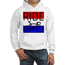 RIDE, RED WHITE & BLUE Hoodie