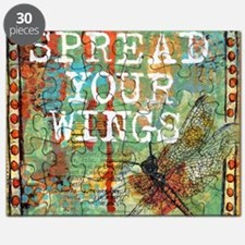 Dragonfly Spread Your Wings Puzzle
