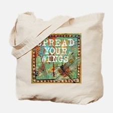 Dragonfly Spread Your Wings Tote Bag