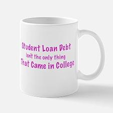 Funny Student debt and College humor Mug