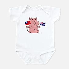 AUSTRALIA AND TAIWAN Infant Bodysuit