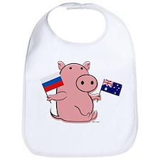 AUSTRALIA AND RUSSIA Bib