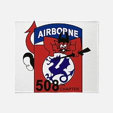508th PIR.png Throw Blanket