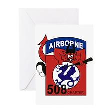 508th PIR Greeting Cards