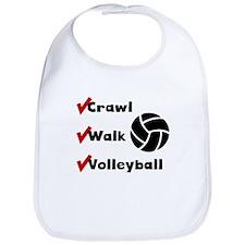 Crawl Walk Volleyball Bib