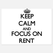 Keep Calm and focus on Rent Invitations