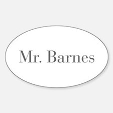 Mr Barnes-bod gray Decal
