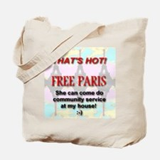 That's Hot! Free Paris Tote Bag