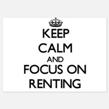 Keep Calm and focus on Renting Invitations