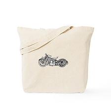 1937 Motorcycle Tote Bag