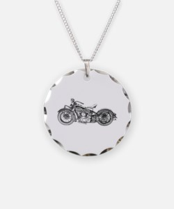 1937 Motorcycle Necklace