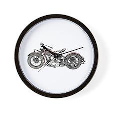 1937 Motorcycle Wall Clock