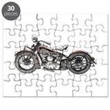 Vintage indian motorcycle Puzzles
