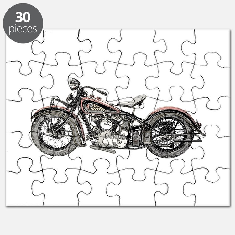 1937 Motorcycle Puzzle