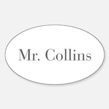 Mr Collins-bod gray Decal